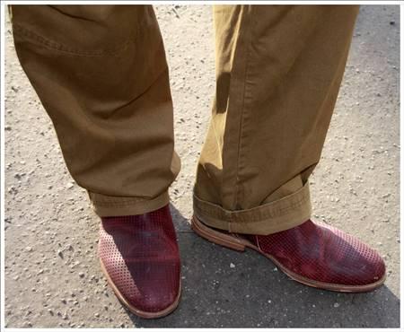 "If the shoe fits... (Copyright @ Jessica ""Jazz"" Krök)"