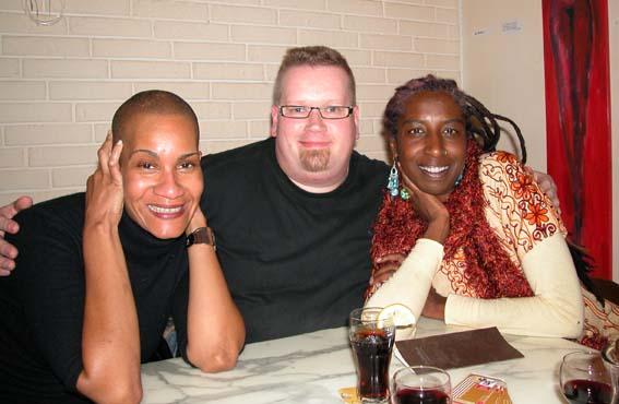 Lola Gayle and Waberi Jordan