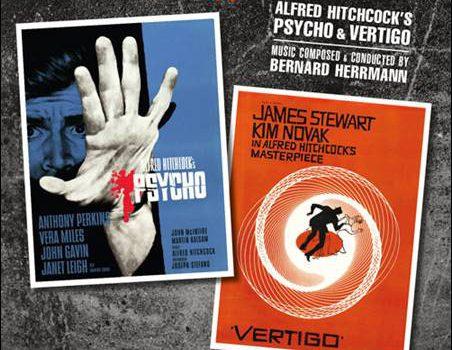 Bernard Herrmann – Alfred Hitchcock's Psycho & Vertigo (OST)