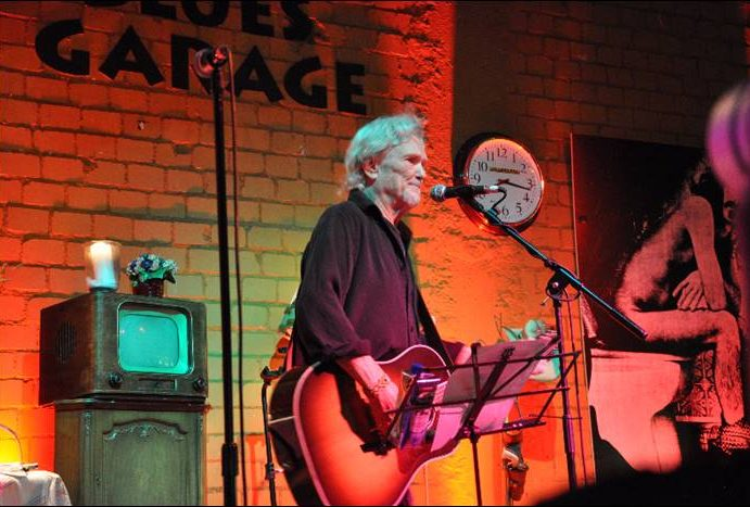 Kris Kristofferson – Live in der Blues Garage Hannover