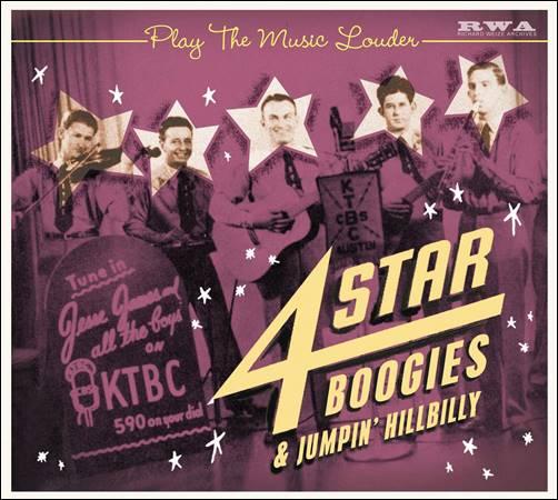 Various – Play The Music Louder – 4 Star Boogies & Jumpin' Hillbilly