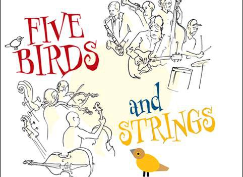 Axel Fischbacher Quintet & Kammerphilharmonie Wuppertal – Five Birds and Strings