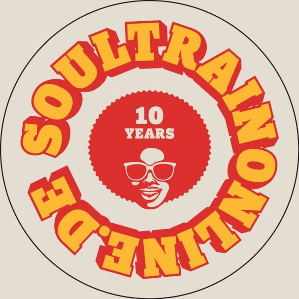 soultrainonline.de - Logo - 10 years - Sticker (2018)